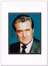 Patrick Macnee Autograph Signed Photo